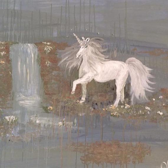 A Secret Garden of Unicorns